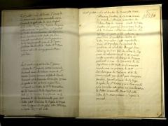 Carmel - Français:   Copie du régistre mortuaire de l\'ancien Carmel (1738-1774).