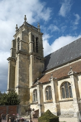 Eglise Saint-Martin - Deutsch: Katholische Pfarrkirche Saint-Martin in Attainville im Département Val-d'Oise (Île-de-France/Frankreich)