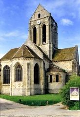 Eglise Notre-Dame - English: Church of Our Lady of the Assumption of Auvers -sur- Oise