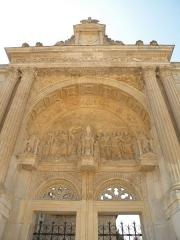 Eglise Saint-Christophe - Français:   eglise saint christophe de cergy, france