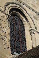 Eglise Notre-Dame de l'Assomption - Deutsch: Katholische Pfarrkirche Notre-Dame de l'Assomption in Champagne-sur-Oise (Département Val-d'Oise) in der Region Île-de-France (Frankreich), Fenster des südlichen Querhauses