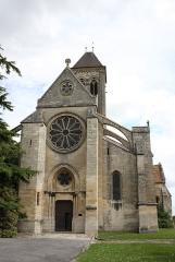Eglise Notre-Dame de l'Assomption - Deutsch: Katholische Pfarrkirche Notre-Dame de l'Assomption in Champagne-sur-Oise (Département Val-d'Oise) in der Region Île-de-France (Frankreich), Westfassade