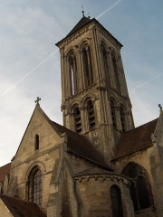 Eglise Notre-Dame de l'Assomption -  Vue de l'église de Champagne-sur-Oise