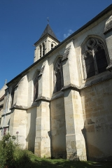 Eglise Saint-Martin - Deutsch: Katholische Pfarrkirche Saint-Martin in Cormeilles-en-Parisis im Département Val-d'Oise (Île-de-France/Frankreich)