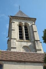 Eglise Saint-Martin - Deutsch: Katholische Pfarrkirche Saint-Martin in Cormeilles-en-Parisis im Département Val-d'Oise (Île-de-France/Frankreich), Turm
