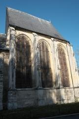 Eglise Saint-Acceul - Deutsch: Katholische Pfarrkirche Saint-Acceul in Écouen im Département Val-d'Oise (Île-de-France/Frankreich)