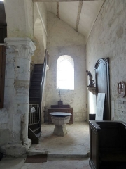 Eglise Saint-Clair - Français:   Chapelle baptismale.