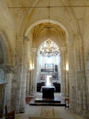 Eglise Saint-Clair - Français:   Chœur, vue vers l\'ouest.