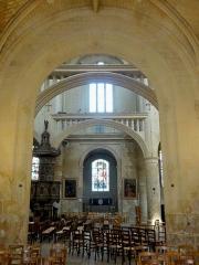 Eglise Saint-Martin - Français:   Chapelle de la Vierge, vue dans le transept.