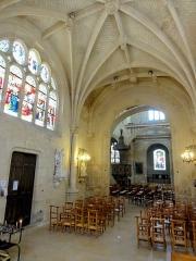 Eglise Saint-Martin - Français:   Chapelle de la Vierge, vue depuis l\'abside.