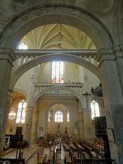 Eglise Saint-Martin - Français:   Chapelle funéraire, vue dans le transept.