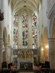 Eglise Saint-Martin - Français:   Chœur.