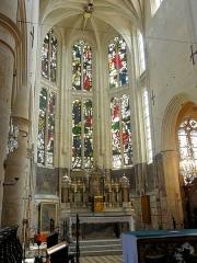 Eglise Saint-Martin - Français:   Chœur, chevet.