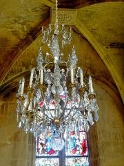 Eglise Saint-Martin - Français:   Lustre du chœur.