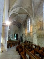 Eglise Notre-Dame -  Bas-côté nord, vue vers l\'ouest.