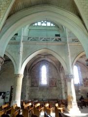 Eglise Notre-Dame -  Bas-côté sud, vue par la seconde grande arcade.