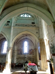 Eglise Notre-Dame -  Bas-côté sud, vue par la troisième grande arcade.