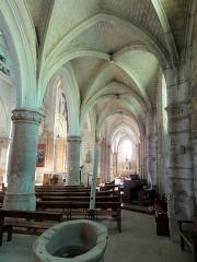 Eglise Notre-Dame -  Bas-côté sud, vue vers l\'est.