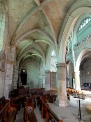 Eglise Notre-Dame -  Bas-côté sud, vue vers l\'ouest.