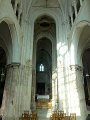 Eglise Notre-Dame -  Choeur, vue vers l\'ouest.