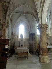 Eglise Notre-Dame -  Collatéral nord, vue vers l\'est.