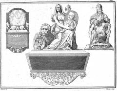 Eglise et chapelle funéraire - Français:   issu de la bibliothèque de reims.