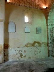 Eglise Saint-Martin - Français:   Intérieur de l\'église (voir titre).