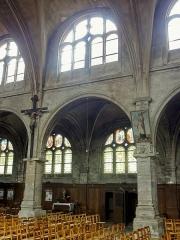 Eglise Notre-Dame - Nef; troisième grande arcade au nord.