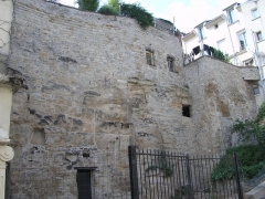 Remparts -  Pontoise remparts du château Photographie  oeuvre personnelle  2007