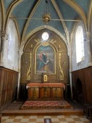 Eglise Saint-Pierre - Français:   Intérieur de l\'église - voir titre.