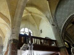 Eglise Saint-Samson -  Intérieur de l'église (voir titre).