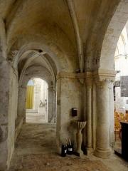 Eglise Saint-Clair - Français:   Troisième travée du bas-côté nord, côté est.