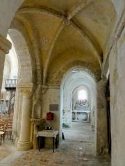 Eglise Saint-Clair - Français:   Troisième travée du bas-côté nord, côté ouest.
