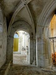 Eglise Saint-Clair - Français:   Quatrième travée du bas-côté nord, côté est.