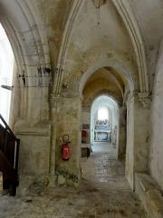 Eglise Saint-Clair - Français:   Quatrième travée du bas-côté nord, côté ouest.