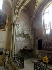 Eglise Saint-Clair - Français:   Chapelle Saint-Clair, côté ouest.
