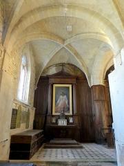 Eglise Notre-Dame -  Intérieur de l'église (voir titre).