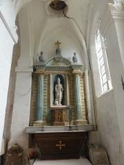 Eglise Saint-Romain -  Mobilier de l'église (voir titre).