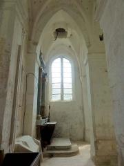Eglise Saint-Romain -  Chapelle latérale sud, 2e travée, vue vers le sud dans la base de l'actuel clocher.