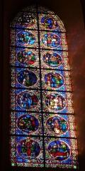 Cathédrale Saint-Jérôme - Deutsch: Bleiglasfenster in der Kathedrale Saint-Jérome in Digne-les-Bains