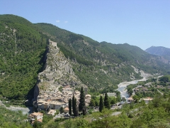 Fortifications et citadelle - English: Entrevaux
