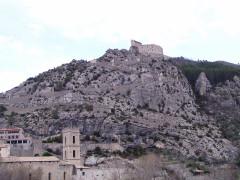 Fortifications et citadelle - Deutsch: Zitadelle von Entrevaux