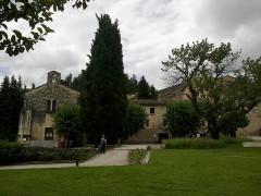 Couvent des Cordeliers (restes de l'ancien) -  Alpes-Haute-Provence Forcalquier Eglise Couvent Cordeliers Jardin