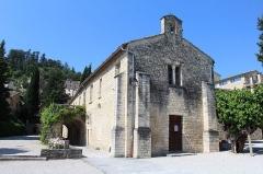 Couvent des Cordeliers (restes de l'ancien) - Français:   Chapelle Saint-François du couvent des Cordeliers de Forcalquier.