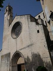 Eglise Notre-Dame-du-Bourguet - Deutsch: Cathédrale Notre-Dame du Bourguet de Forcalquier Turm