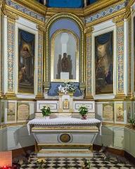Eglise Notre-Dame-de-Romigier - Français:   Église Notre Dame de Romigier, Manosque - Autel