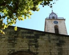 Eglise Saint-Sauveur - Français:   clocher de l\'église St Sauveur de Manosque
