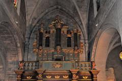 Eglise Saint-Sauveur - Deutsch: Manosque, Kirche Saint Sauveur, Orgel