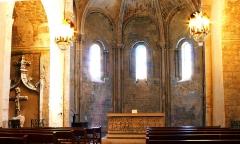 Eglise Saint-Sauveur - Français:   Maître-autel à Manosque