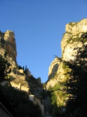 Chapelle Notre-Dame de Beauvoir -  Moustiers-Sainte-Marie, Gorge with the Star, Provence, South France